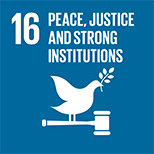 16. PEACE,JUSTICE AND STRONG INSTITUTIONS